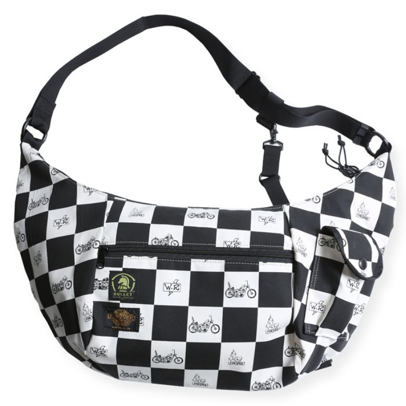SHULDER BAG (BLK CHECK)