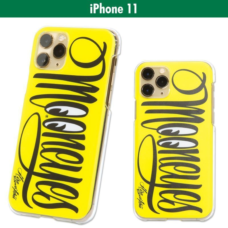 MOONEYES Lettering iPhone 11 Hard Case [MG874-11]