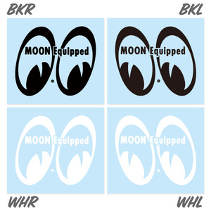 MOON Equipped Eyeshape Die Cut Sticker [ MQD029 ]