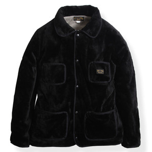 BROWNS FLEECE JKT (BLK)