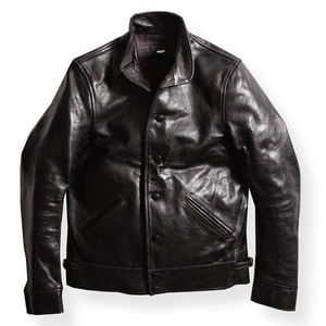 WATSON VILLE LEATHER COAT (GOATSKIN)