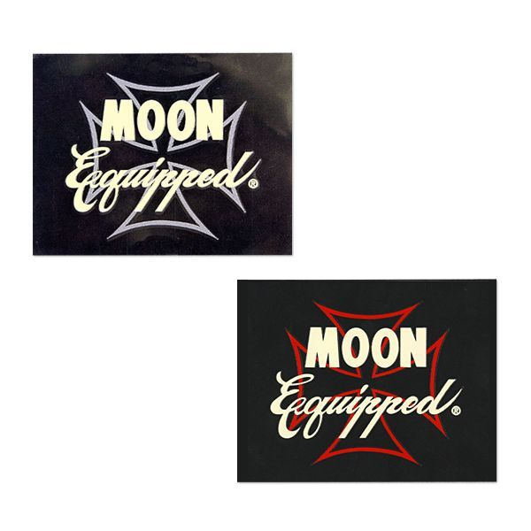 MOON EQUIPPED IRON CROSS STICKER [ MQD023 ]