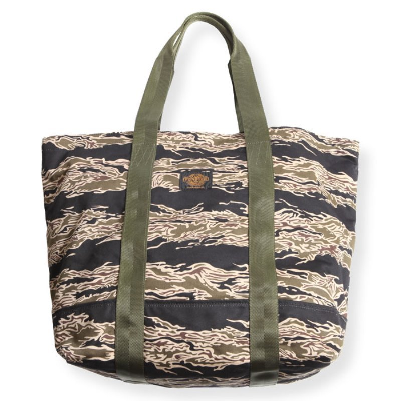 TOTEBAG (TIGER BORDER)