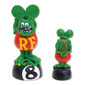 Rat Fink Bobbing Head on 8 Ball [ RAF469GR ]