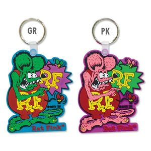 Rat Fink Pointing Key Ring  [ RKF047 ]