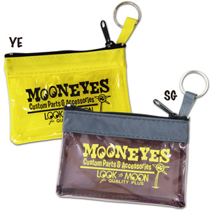 MOON Key Ring Zippered Pouch [ MG629 ]