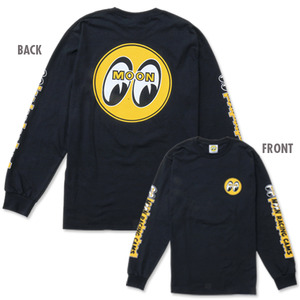 MOON RACING CAMS Long Sleeve T-Shirts [ TM112BK ]