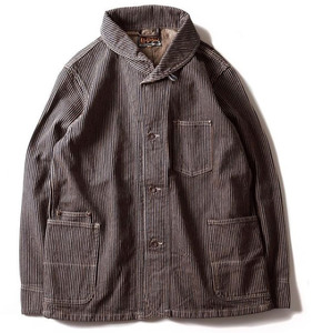 WORKERS JACKET (BROWN HICKORY)
