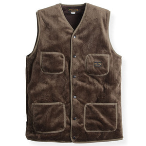 BROWNS FLEECE VEST (2 TYPE)
